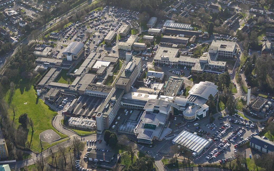 Princess Alexandra Hospital Harlow Lawson Planning